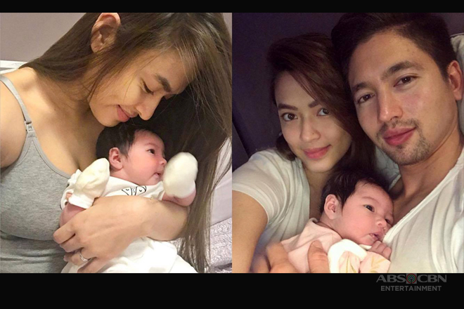 LOOK: Bangs Garcia with her beautiful bundle of joy