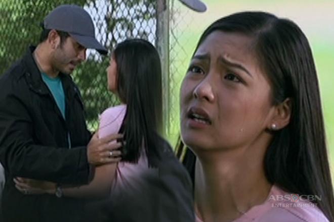 Bianca at Gabriel, naluha nang muling mayakap ang isa't isa