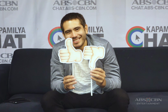 Gerald Anderson takes on the Thumbs Up or Thumbs Down Challenge