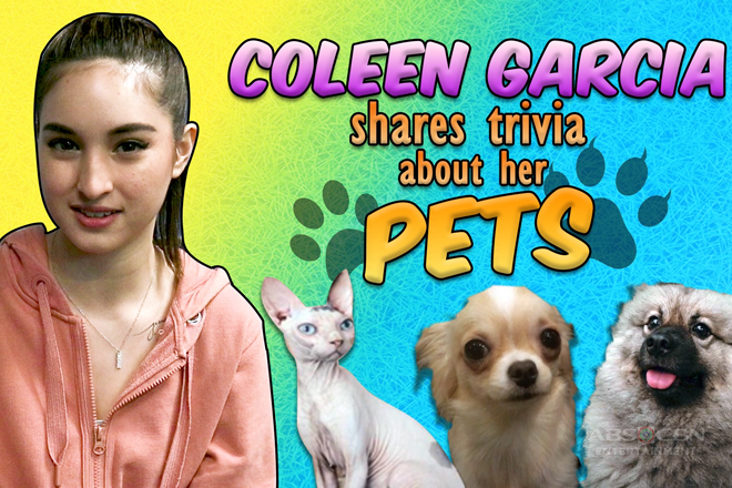 Coleen shares trivia about her pets
