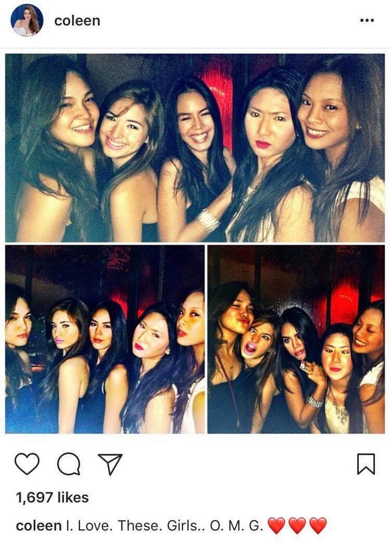 IN PHOTOS: Coleen Garcia with her beautiful besties!