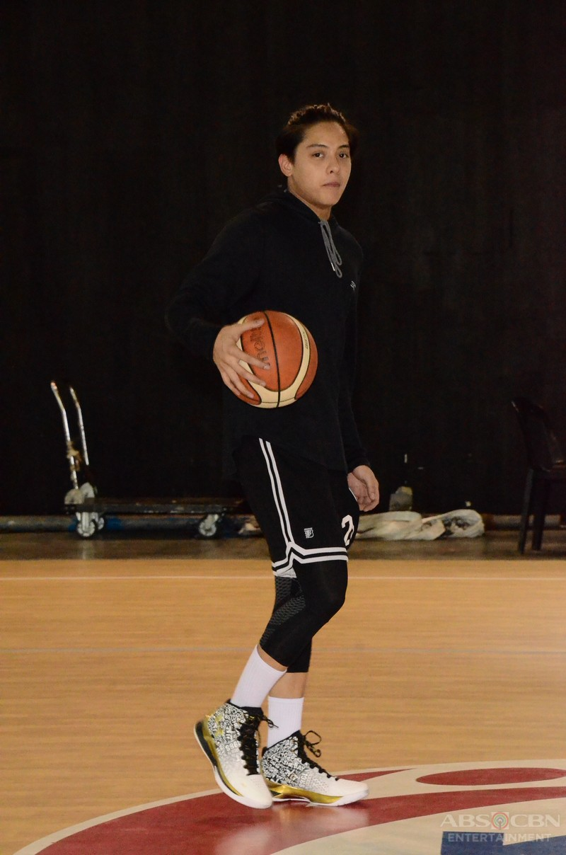 SPOTTED: Daniel, puspusan na ang practice para sa Star Magic All Star Games